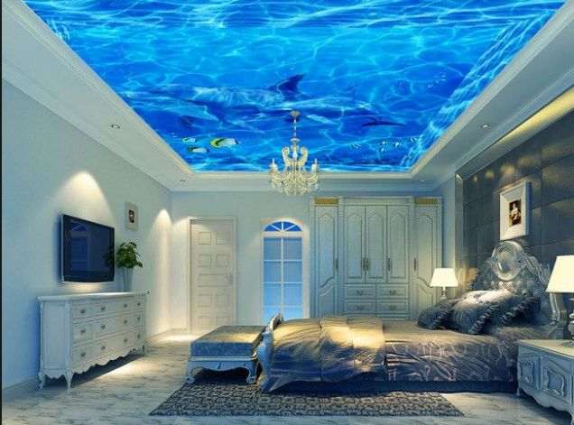 Выбор натяжного потолка для комнаты в квартире