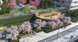 Девелопер «Ривер Парка» утвердил проект благоустройства набережной