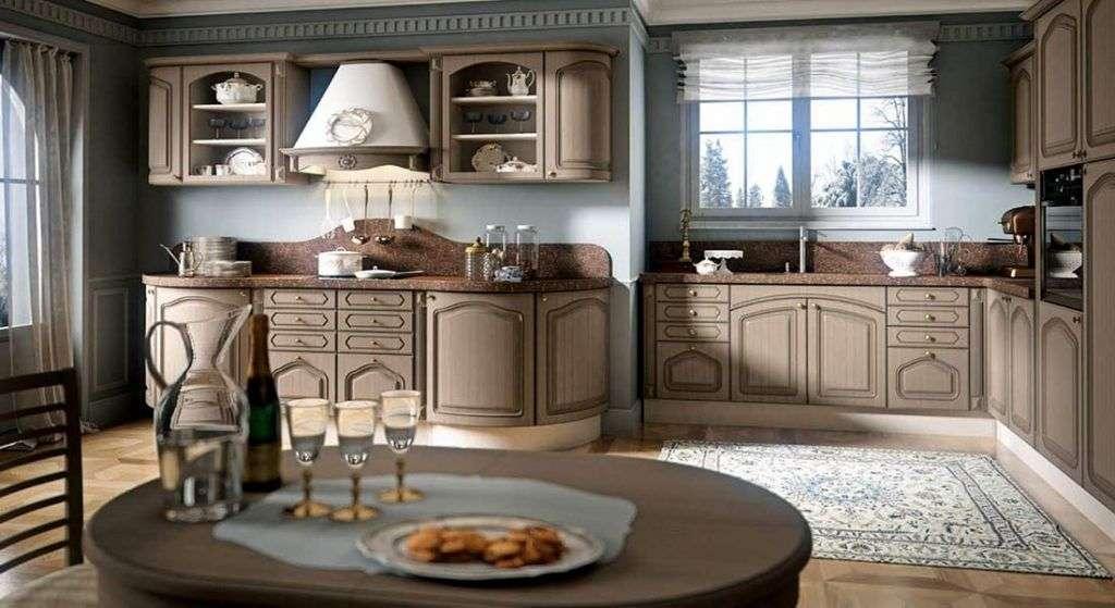 Преимущества деревянной мебели для кухни
