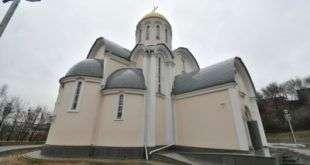 В Тушине возведен храмовый комплекс в честь преподобного Сергия Радонежского
