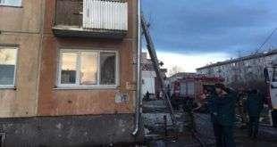 Взрыв газа произошел в многоквартирном доме в Красноярском крае