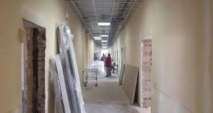Инфекционный центр в Ногинске строят в три смены