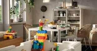 ИКЕА и Lego приучат ребёнка к порядку