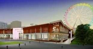 Опоры для колеса обозрения «Солнце Москвы» на ВДНХ доставят в столицу в ноябре