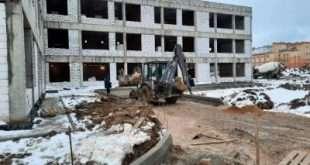 Строительство школы на 1100 мест в Подольске завершится к 1 сентября 2021 года