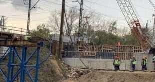 Как строятся 3 подземных пешеходных перехода на Волоколамском шоссе