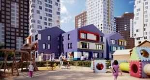 В ЖК «Румянцево-Парк» продолжаются активные работы по строительству ДОУ на 200 мест