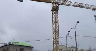 Завершился демонтаж железобетонных конструкций моста через реку Сходня
