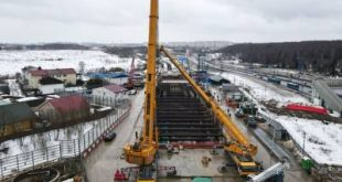 Новый участок Калининско-Солнцевской линии метро готов на 15%