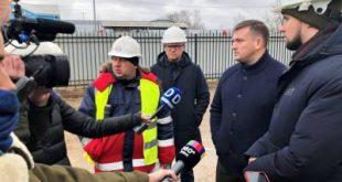 Владимир Локтев проверил ход строительства образовательного кластера в Долгопрудном