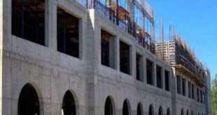 Строители перешли к новому этапу возведения начальной школы Физтех-лицея в Долгопрудном