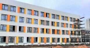В Подольске завершается строительство школы в микрорайоне Кузнечики
