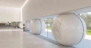 Завершено остекление вестибюля станции БКЛ метро «Марьина Роща»