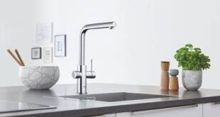 Чистая вода из кухонного смесителя — водная система Blue от Grohe